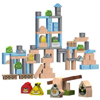 Angry Birds愤怒的小鸟积木 100粒