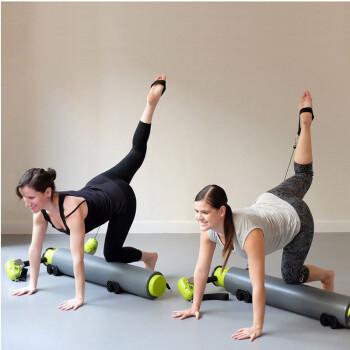 普拉提器材多功能滚轮滚桶核心床瑜伽器械MOTR产后移动塑身机健身器材 灰绿色
