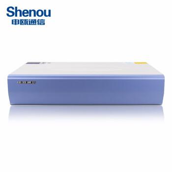 【申瓯Shenou】HJK120S程控电话交换机6外线进16-120口分机出酒店语音集团总机 6外线104内线
