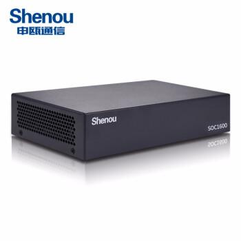 【申瓯Shenou】SOC2600D独立式电话录音设备4/8路电话录音系统固话座机电话录音盒录音仪 8路桌面式 64G 录音10000小时