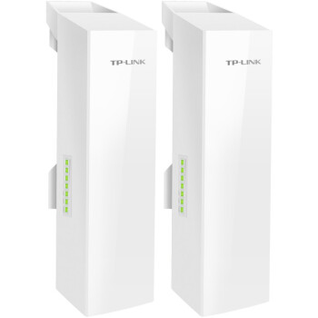 TP-LINK 无线网桥套装(5公里) 监控专用wifi点对点远距离传输无线AP CPE TL-S5-5KM套装