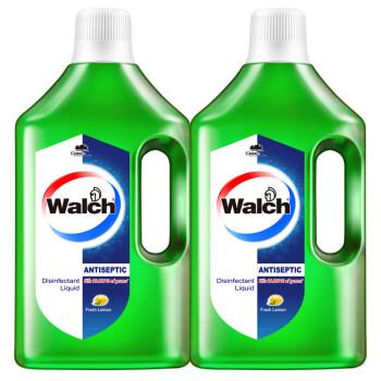 威露士多用途消毒液除菌液1L*2瓶 杀菌99.999%衣物家居消毒杀菌清新青柠
