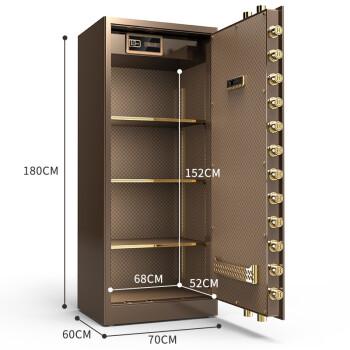 虎牌保险柜家用小型45/60cm全钢70/80指纹密码1米1.5米1.8米WiFi床头入墙保险箱办公 1.8米高-三色可选 TOUCH指纹识别+触控密码