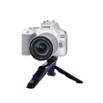 佳能(Canon)EOS 200d2代/二代 入门级单反相机 vlog便携家用迷你单反数码照相机 白色200D二代 vlog套餐(含麦克风+三角架) 标配12期免息0首付