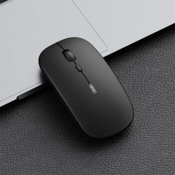 英菲克(INPHIC) PM1无线鼠标 办公鼠标 静音鼠标 可充电式 2.4G 磨砂质感 黑色磨砂