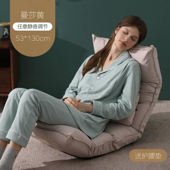 小雅象喂奶神器新生儿哺乳椅坐月子喂奶床上折叠抱娃护腰靠背枕头 曼莎米(任意调节)