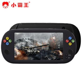 小霸王游戏机 PSP掌机FC经典复古怀旧掌上游戏机支持GBA\/PS1\/FC\/SFC超级玛丽游戏 Q700黑色24G+7英寸屏+游戏包+六千款游戏