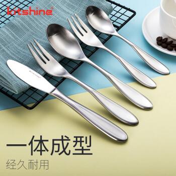 kitshine韩国进口304不锈钢餐具西餐刀叉勺西餐具五件套西餐系列牛排刀水果叉主餐甜品勺 西餐水果叉(有标款)