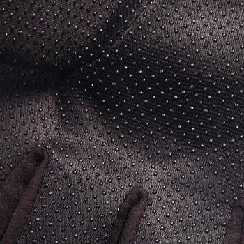 好乐宝(haolebao)红色运动防滑加厚保暖骑行触屏手套自行车春秋冬季户外男女款耐磨手套山地车配件装备