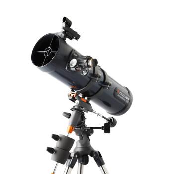 星特朗(美国CELESTRON)天文望远镜130EQ 专业观星 高倍高倍 专业深空 观月大口径入门 官方标配