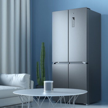 米家十字四門冰箱 4 月 24 日預售:496L 容量立體送風,到手價 3499 元