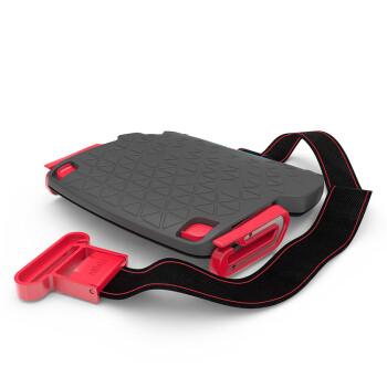 以色列mifold one便携式汽车儿童安全座椅简易增高垫车载通用3-12岁15-36kg 黑色