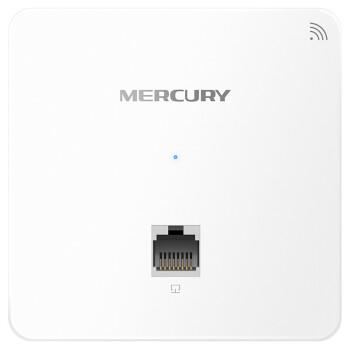 水星(MERCURY)面板AP套装无线wifi墙壁路由器86型酒店企业家用智能网络组网 MIAP300P