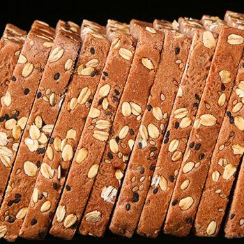 全麦黑麦面包粗粮早餐饱腹不添加蔗糖全麦吐司杂粮面包 谷物全麦面包(加谷物粗粮) 【1箱20片】约(500g)