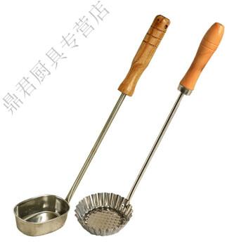 油端子模子萝卜丝饼油墩子油炸果油墩墩儿模具油饷油糍工具勺创意厨具 椭圆形+花边
