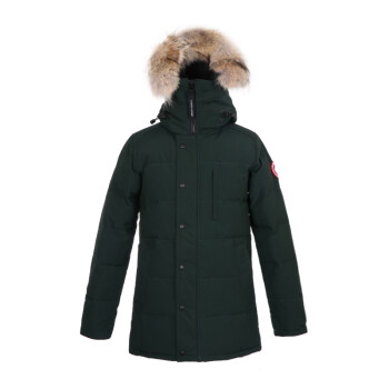 Canada Goose 加拿大鹅 男士绿色涤纶连帽羽绒服 3805M 778 M码