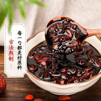 塔木金怀姜糖膏 红糖姜茶姜母茶姜汁红枣茶红糖水速溶生姜块姜枣茶265g/瓶
