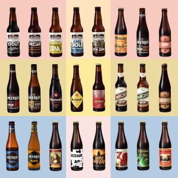 世界原装进口精酿啤酒 多口味整箱组合套装西麦尔/凯尔特人等 24种口味集合