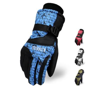 【品质保证,限量促销】冬季防风防水加厚保暖防寒骑车滑雪手套