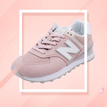 bae7f4b2036e New Balance NB 574系列新百伦女鞋复古休闲运动跑步鞋WL574ES 浅粉色 ...