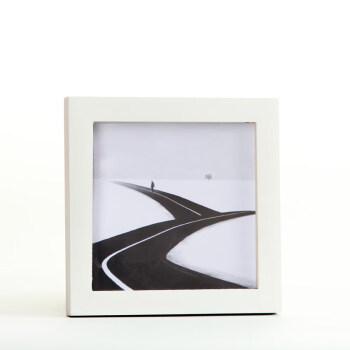 正方形实木相框挂墙宣纸书法书画装裱画框35 38厘米45 50cm60画框 白色 正方形5寸挂墙【可放12.7*12.7cm】