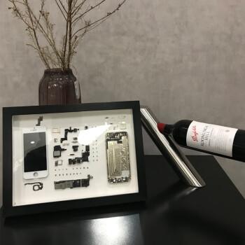 手机拆机装裱框iphone标本框衍纸画框美甲展示框十字绣送背景纸 红木色 拆机工具套装(升级版)