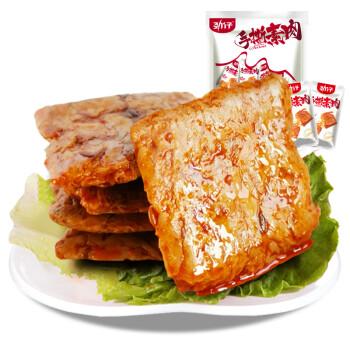 劲仔 手撕素肉豆干麻辣条素肉 休闲零食 香辣牛肉味500g/袋