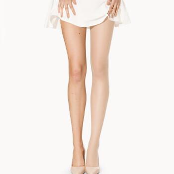 梦娜6双装分尺码丝袜女士春夏季防勾丝透薄连裤袜 显瘦丝袜 4肤2黑 XL