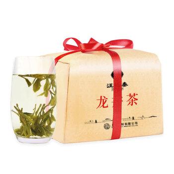 2019年新茶 汪裕泰 茶叶 绿茶 雨前龙井茶纸包散装250克 250g