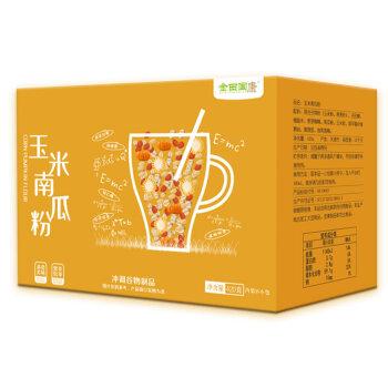 金田国康 玉米南瓜粉 固体饮料 谷物冲调饮品420g