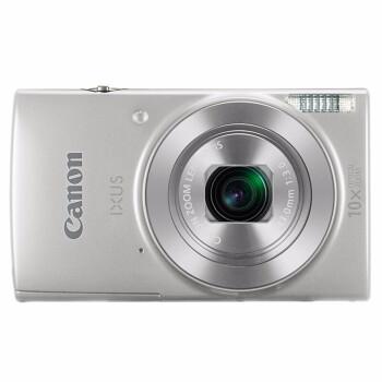 佳能(Canon)数码相机 卡片机 家用旅游照相机IXUS 175/185/190/285 HS IXUS190银色 套餐三