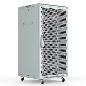 图腾(TOTEN)G3.6622 网络机柜 22U1.2米白色机柜 交换机机柜 19英寸标准网孔门机柜