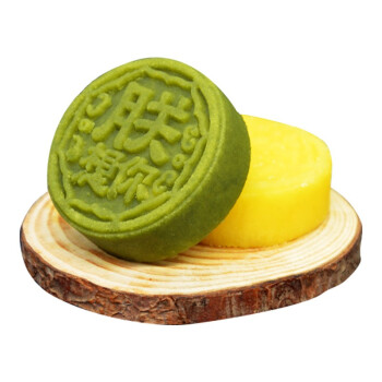 雅觅新中式绿豆糕 原味+抹茶共320