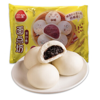 Image result for 三全 豆沙包