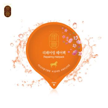 LG睿嫣(ReEn)润膏 丝质修护马油护发素发膜20g(修复烫染损伤)旅行便携装
