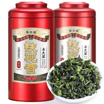 【官方旗舰店】香茶客安溪高山浓香型铁观音500g礼盒装