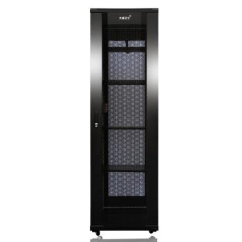 大唐卫士 T3-6048 服务器网络机柜47U 19英寸标准加厚机柜 前后网门监控交换机UPS机柜