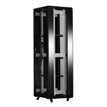 神盾卫士(SDWS)机柜 网络弱电监控UPS交换机服务器机柜 加厚可定制 2米 42U 600*600 SD-6642