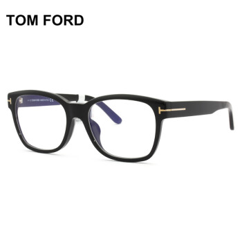 TOMFORD汤姆福特近视镜时尚平光防蓝光 板材框男女眼镜框架TF5535-D-B-001