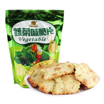菓子町园道 果子町 零食 蔬菜脆片饼干 蛋糕点心小吃 208g/袋