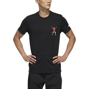 阿迪达斯 ADIDAS 男子 运动型格 ISC CHINESE TEE 运动 T恤 FP7575 2XL码
