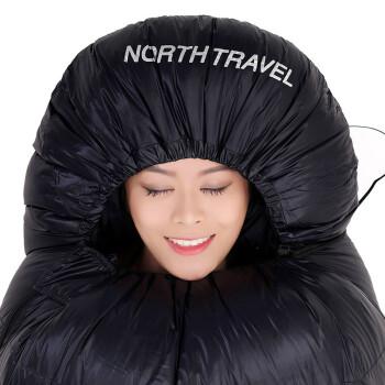 北旅 羽绒睡袋户外用品露营加厚午休单人成人防寒防冻睡袋 睡袋1500G(-15度)
