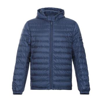 PRADA 普拉达 男士波罗的海蓝聚酯纤维连帽羽绒服 SGN763 1ID1 F0216 S 182 52码