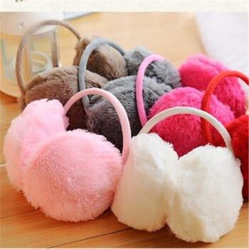 【买一送二】冬季仿兔毛保暖耳罩*3个