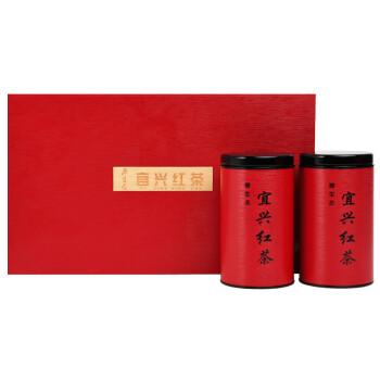 宜兴红茶茶叶礼盒明前250g 阳羡茶宜兴红御贡礼盒装宜兴特产