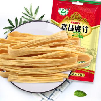 富昌 腐竹250g(豆腐皮非转基因大豆手工制作黄豆制品)