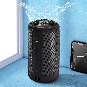 先科(SAST)A66黑 蓝牙无线音箱迷你小音响便携式插卡手机电脑微信收款扩音器家用户外防水低音炮