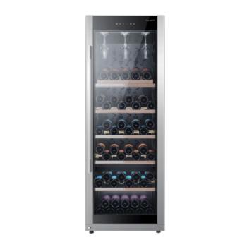 卡萨帝博芬变频红酒柜智能温控榉木酒架私藏酒窖 149瓶装 JC-316BPU1 316升