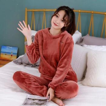 珊瑚绒保暖睡衣