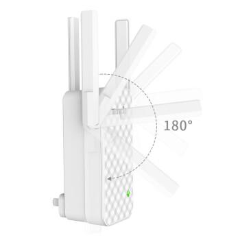 腾达(Tenda)AC23 双千兆路由器 2100M无线家用 5G双频 千兆端口 光纤宽带WIFI穿 【A12】300M信号放大器